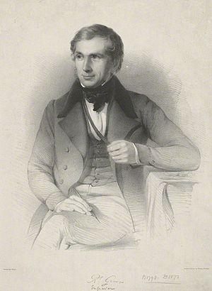 Robert Graves (engraver) - Robert Graves, lithograph by Thomas Fairland