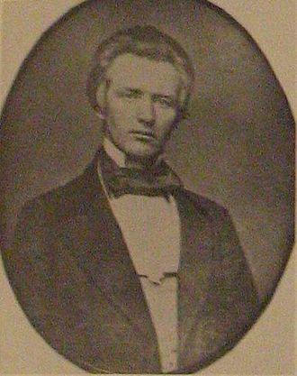 Robert Marcellus Stewart - Image: Robert M. Stewart, 14th governor of Missouri