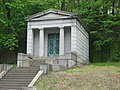 Robinson family mausoleum at Glendale Cemetery.jpg