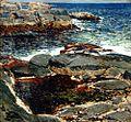 Rocks and Sea, Isles of Shoals by Childe Hassam, 1912.jpg