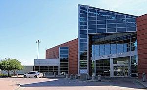 Rocky Mountain Metropolitan Airport - The terminal building.