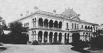 Japanese architecture - Rokumeikan at its completion in 1883