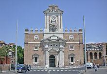 Arquitectura manierista wikipedia la enciclopedia libre - San michele a porta pia ...