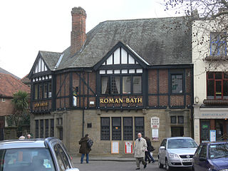 Roman Bath, York pub in York, UK, which is of interest for Roman remains
