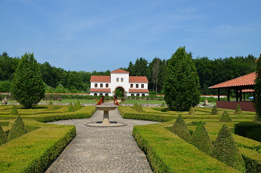 Roman Villa Borg, Germany