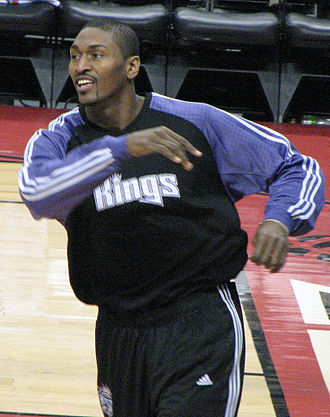 Metta World Peace - Artest during his tenure with the Sacramento Kings.