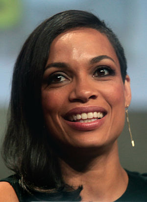Rosario Dawson - Dawson at the San Diego Comic-Con International in 2014