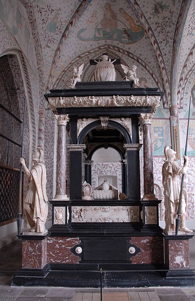 Sepulchral monument of Christian III by Cornelis Floris - Roskilde Cathedral