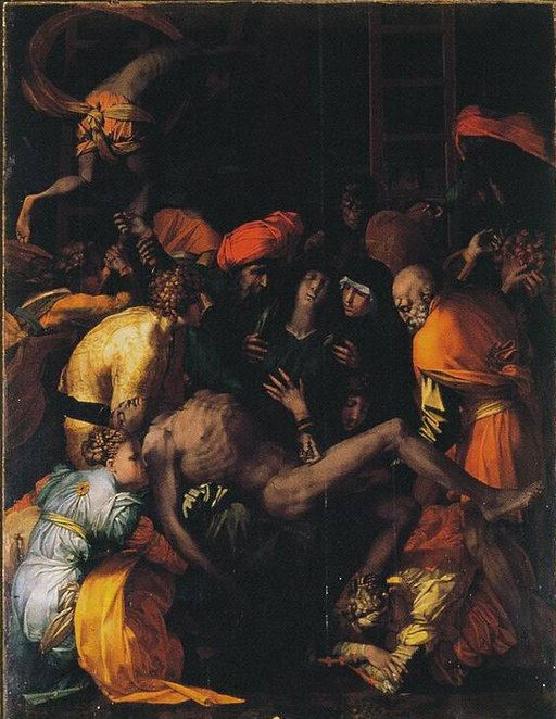 Rosso Fiorentino-Deposizione di Cristo