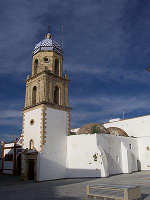 Rota, Andalusia - Image: Rota torre del convento de la Merced