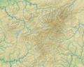 Rothaargebirge (Relief und Gewässer) - Deutsche Mittelgebirge, Serie A-de.png