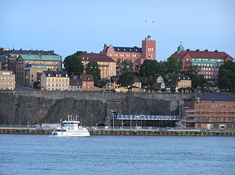 Prehistory and origin of Stockholm - North-bound cliffs of Södermalm