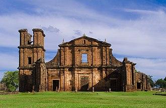 Ruins of São Miguel das Missões - Image: Ruínas 1