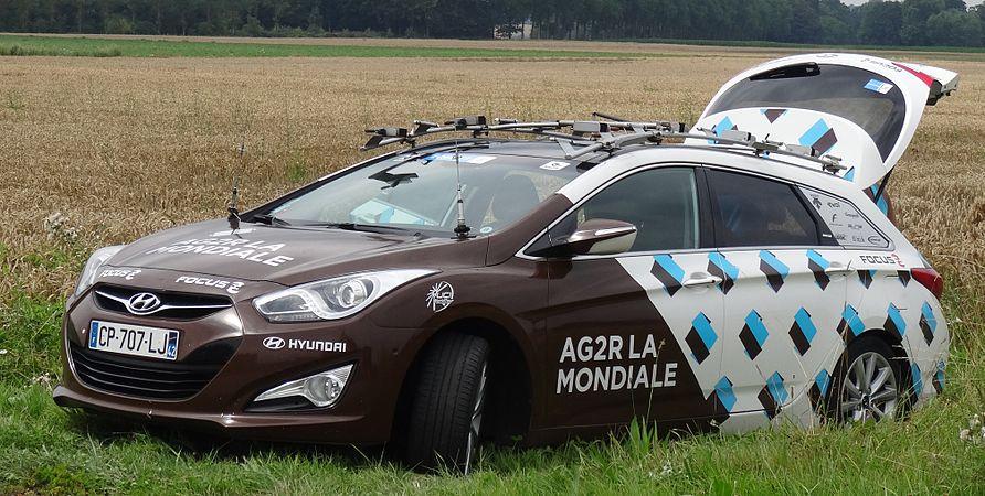 Rumillies (Tournai) - Tour de Wallonie, étape 1, 26 juillet 2014, ravitaillement (A03).JPG