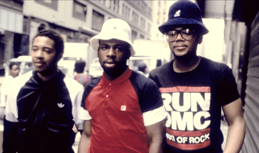 "Run-DMC, from left to right: Joseph ""Run"" Simmons, Jason ""Jam Master Jay"" Mizell, and Darryl ""D.M.C."" McDaniels. Run DMC (cropped).png"