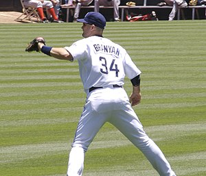 Russell Branyan - Branyan with the San Diego Padres.