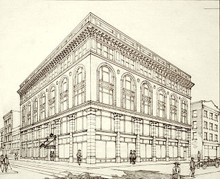 Palazzo style architecture Imitative of Italian palazzi