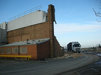 Ryton plant - Demolition of the plant, 2008
