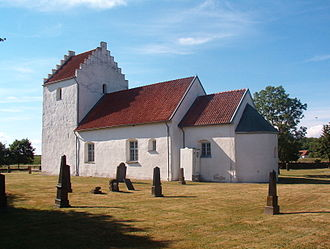 Sjöbo Municipality - The Old Church of Södra Åsum, just north of Sjöbo