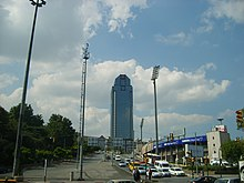 Süzer Plaza as seen from Dolmabahçe Gazhane Avenue.jpg