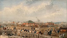 South Australia-History-S. T. Gill - Sturt's Overland Expedition leaving Adelaide, 10th August, 1844 - Google Art Project