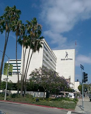 SAG-AFTRA - SAG-AFTRA Plaza in Los Angeles, California, headquarters to SAG-AFTRA
