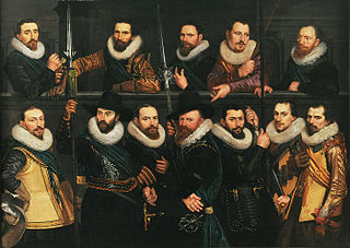 Officers of the Company of Lieutenant Pieter Pietersz Hasselaer