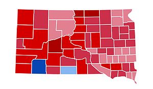 United States presidential election in South Dakota, 1984