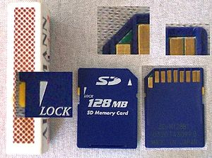 SD storage card matchbox