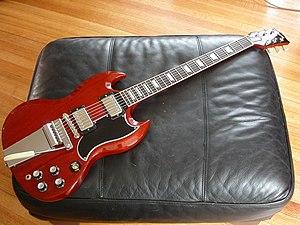 Gibson SG - Image: SG L Pbody 3