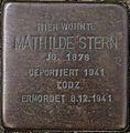 SG Stolperstein - Mathilde Stern, Flurstraße 4.jpg