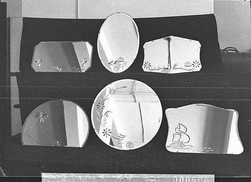 SLNSW 13858 Ornamental mirrors for catalogue