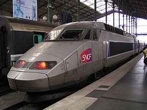 法国国铁TGV Réseau列车