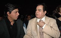 Shahrukh Khan  and Dilip Kumar