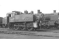 SR USA 0-6-0T 30073 Eastleigh MPD 70D, August 1966 (9969640295).jpg