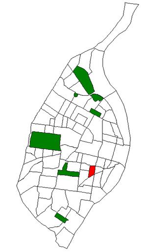 Fox Park, St. Louis - Image: STL Neighborhood Map 24