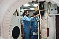 STS 51-E crew is briefed on the Shuttle full fuselage trainer.jpg