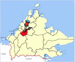 Vị trí của Huyện Tambunan
