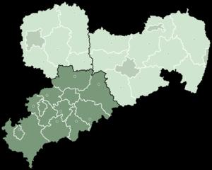 Chemnitz (region) - Image: Sachsen rbchemnitz