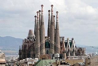Sagrada Familia, obra de Antoni Gaudí