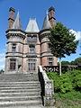 Saint-Goazec (29) Château de Trévarez Façade ouest 01.JPG