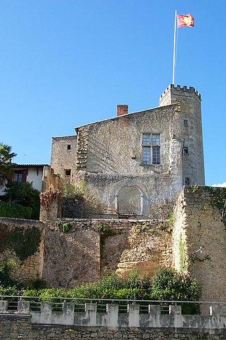 Château de Tardes - Image: Saint Macaire 33 Château de Tardes 01