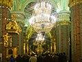 Saint-Pétersbourg, nef centrale de la cathédrale Pierre-et-Paul.jpg