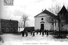 Place de l'eglise in 1905