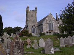 Saint Constantine Church in Constantine Village Kerrier Cornwall.JPG