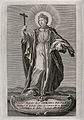 Saint Leocadia. Engraving. Wellcome V0032524.jpg