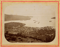 Saint Thomas Island, Danish Possession in the Antilles- View from the Brazilian Observatory with the Sandbank and the East Part of the Harbor and the City Charlotte Amalie WDL1753.png