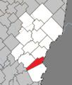 Sainte-Aurélie Quebec location diagram.png