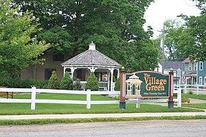 Salem Township, Washtenaw County, Michigan - Image: Salem Township Village Green