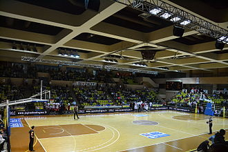 Stade Louis II - The Salle Gaston Médecin indoor arena, which is used by the AS Monaco basketball club